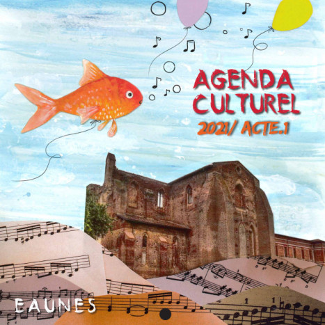 page de couverture agenda culturel_acte1_2021