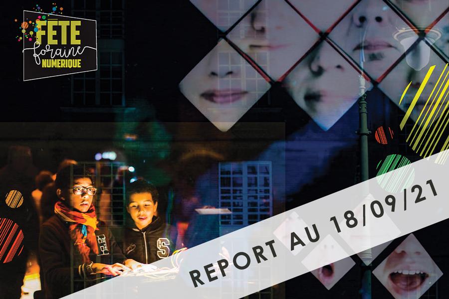 report fête foraine numérique